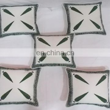 jaipuri new design color custom cotton cushion cover wholesale hanmade high quality printed cushion cover