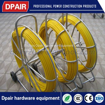 flexible duct rodders for cable placing in pipe, conduit