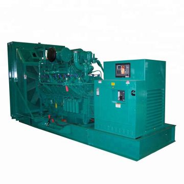 Cheap price 900kw mobile genset silent Cummins diesel generator