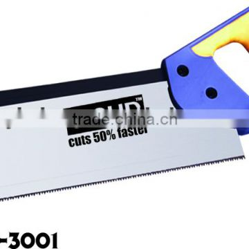 High quality back saw with ABS+TPR handle garden saw hand tool Model: C-3001