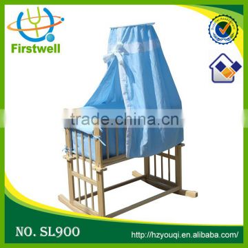 Hottest quality multifunctional sleigh baby cot