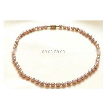 Cheap ladies classical beaded pearl necklace