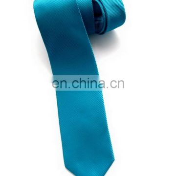 Top level hotsell white color polyester necktie