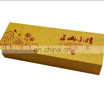 Custom Hard Cardboard Paper Tea Bags Storage Packaging Box