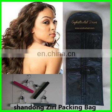 Super quality innovative clear hair salon pvc packing bag