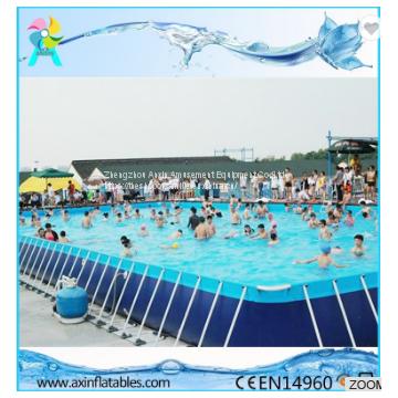 Quick-set Above Ground Metal Swimming Pool/Outdoor Metal Frame