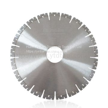 350mm W shape segment diamond saw blade for fast cutting granite stone
