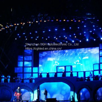 stage led video wall screen P3 91 indoor led working billboard