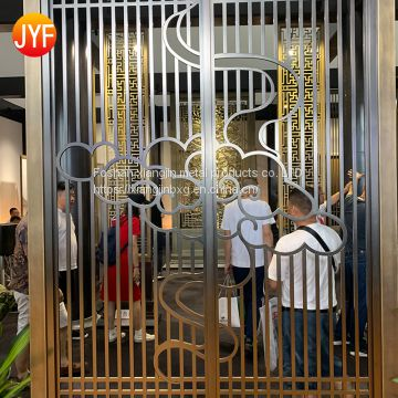 JYFQ0199   Custom stainless steel decorative screen sheet metal laser cutting service