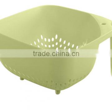 new design plastic kitchen stainer with handle