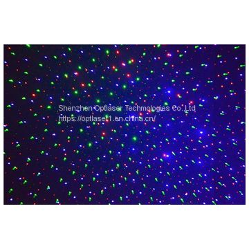 RGB Outdoor laser light Garden Light Christmas laser light for house, party, tree, landscape