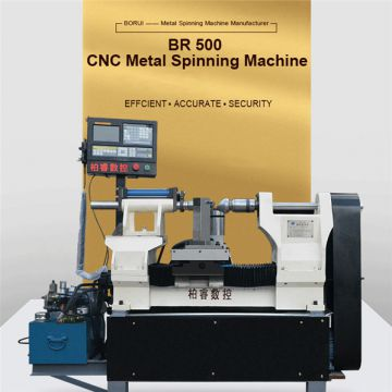 BR 500 automatic CNC aluminium metal spinning machine