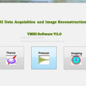 EduVMR Virtual Educational MRI System Training NMR Software
