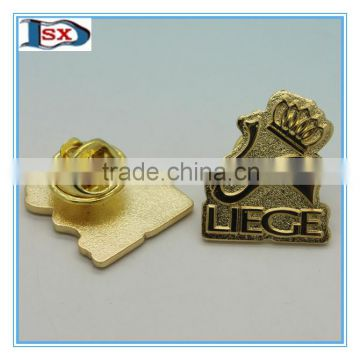 High quality zinc alloy lapel pins /Anniversary emblem badge/Die struck casting lapel pins