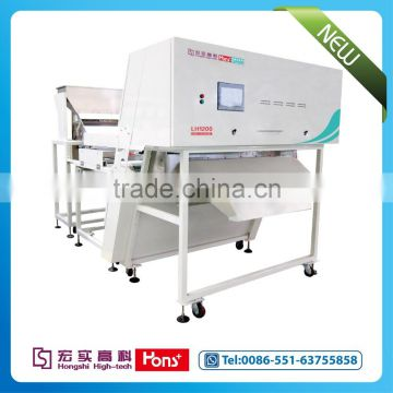 2016 hot sale pine nut CCD belt color sorter machine from Hons+ popular in market