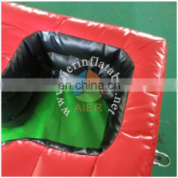 inflatable foot pool/shooting game for sale