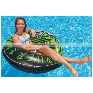 River Rat Inflatable Floating Tube Raft