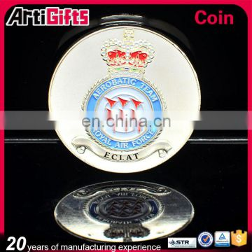 2016 newest style customized souvenir coin silver