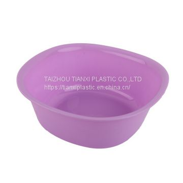 Txab 2 Plastic Small Basin Colorful Fruit Basket Of Plastic Basket