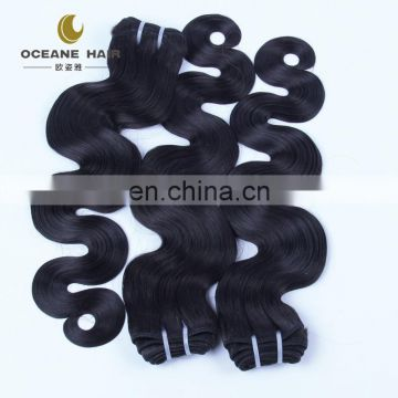 luxury human hair no chemical full cuticle real mink brazilian hair