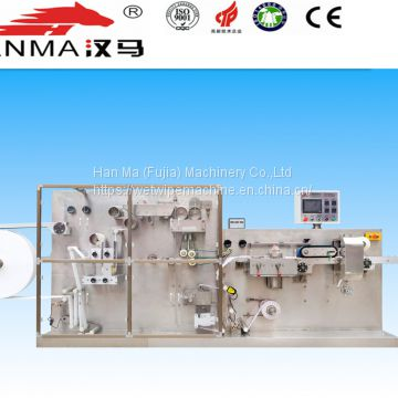 manufacturing one piece wet wipes machine used for resturant hotel