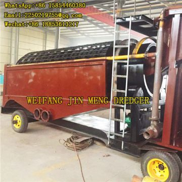 Strong Steel  Gold Mining Machinery River Sand 12m Depth