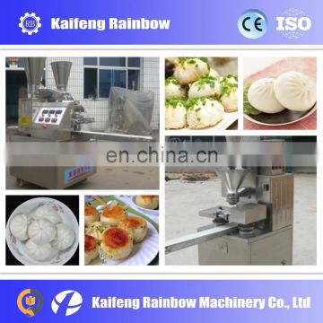 factory selling automatic stainless steel steamed stuffing bun machine/momo making maker