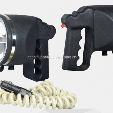 Portable HID light Spotlight for fishing hunting 12V car charging 55W