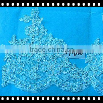 Beautiful wedding lace design for wedding dress