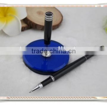 TT- 07 best-selling desk pen for office use , slim metal stand pen