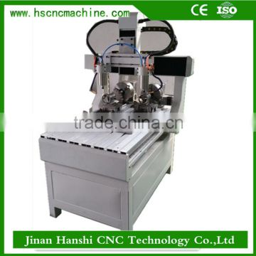 China hot hobby small 5 axis wood cutting lathe mini metal cnc router milling machine for sale