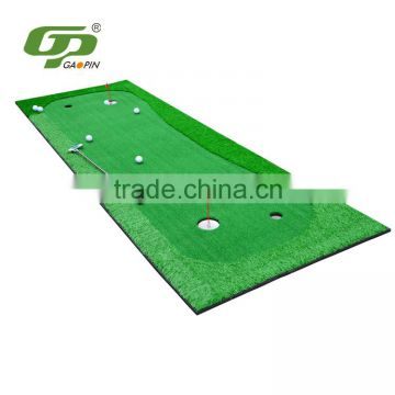3m*1.0m artificial grass portable golf putting green with four holes