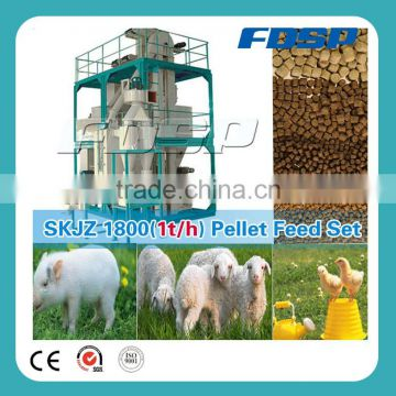 Leading technology 2 poultry farms animal feed processing
