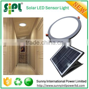 Clean energy solar led panel kits solar panel powered home light with smart radar sensor