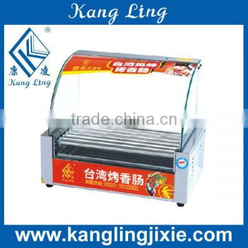 Roller type Hot Dog Machine, Electric Sausage Cooker