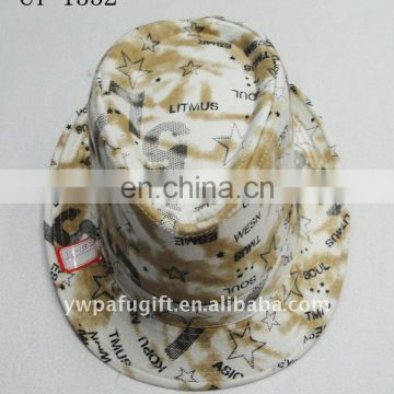 small MOQ fashion top hat