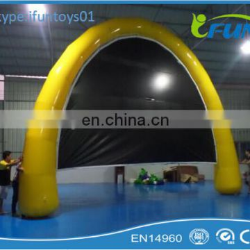 large inflatable outdoor movie cinema screen / inflatable movie screen theater / air movie screen