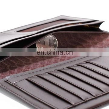 human leather wallet leather mens wallet pu wallet
