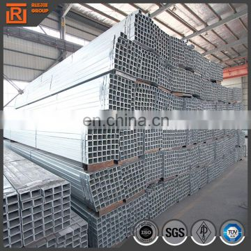 40*80 rectangular steel pipe, q235 hot dip galvanized hollow section