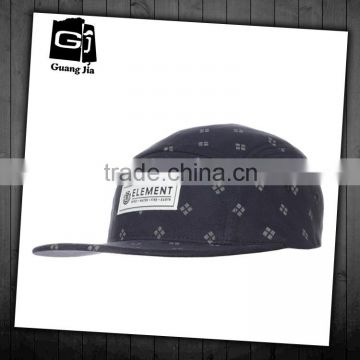 Custom Logo Wholesale Design Your Own 5 Panel Hat Cap/Blank Wholesale 5 Panel Hats/Leather Strap 5 Panel Hats