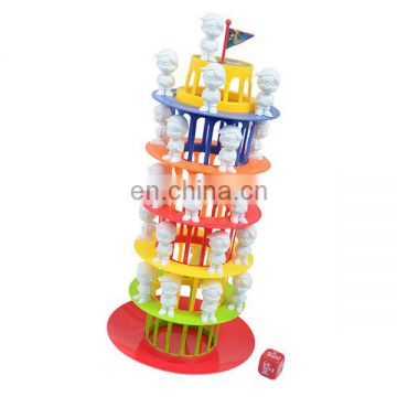 Good design popular leaning tower game building toys educational