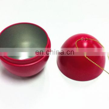 Easter egg tin box 0.3mm Thck Flat Bottom Slitng Halfway Egg Tin Can