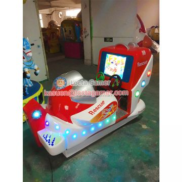Zhongshan amusement park equipment kiddy rides wig-wag machine video game swing machine 1 seat Aerial, fighter