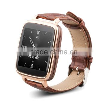 Leather strap iOS BT4.0 Smart Watch Heart Rate Monitor