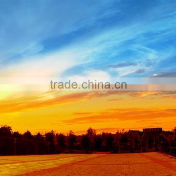 sunset realistic Landscape spanish oil painting printed on canvas wall art pictures for home decoration L-380