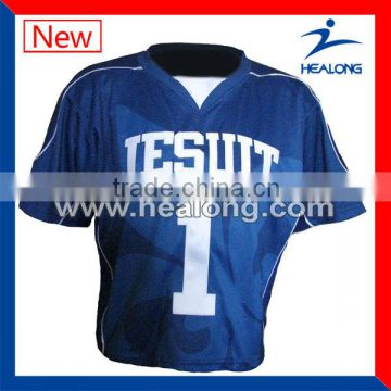OEM custom lacrosse mesh cool pass jerseys