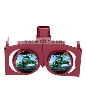 2016 electronic trending hot products folding 3d glasses vr box for blue film sex video google                                                                         Quality Choice                                                     Most Popular