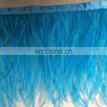 15-18cm fabric ostrich feather trim