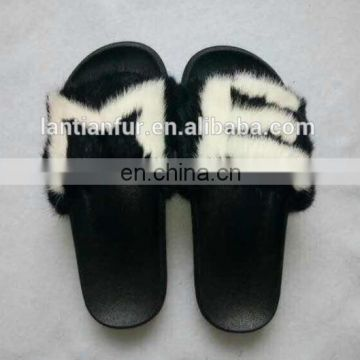 79975f844467 Factory wholesale high quality fashion fox fur Slide Slippers  Sandals of  SHOSE from China Suppliers - 157520618