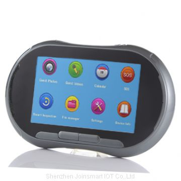 5 inch wifi door viewer with SIM card slot